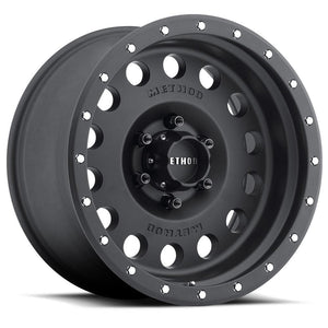Method Race MR307 Hole Matte Black