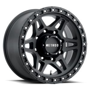 Method Race MR312 Matte Black 8 lugs