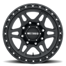 Load image into Gallery viewer, Method Race MR312 Matte Black 8 lugs