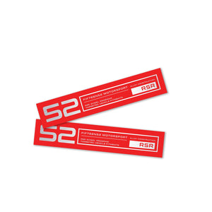 Fifteen52 RSR Lip Decal