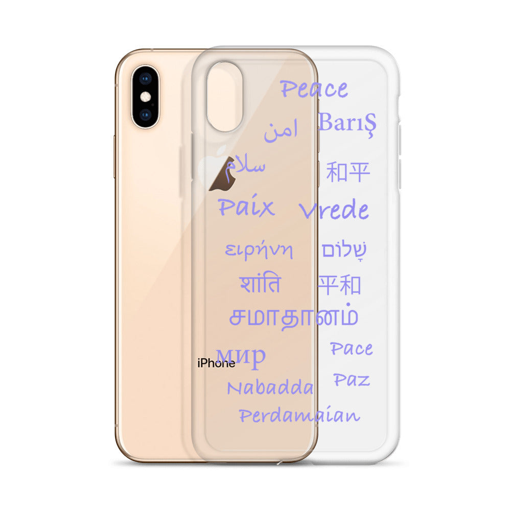 Bisque Global Peace iPhone Case