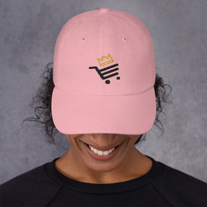 Light Pink Unisex Sultan Bazar Edition Dad Hat (Flat Embroidery)