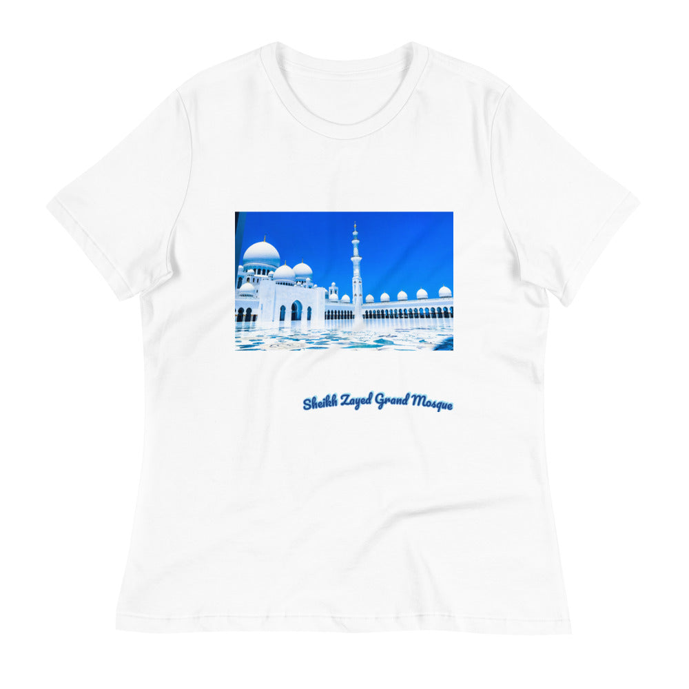 Women's Sheikh Zayed Grand Mosque Relaxed T-Shirt