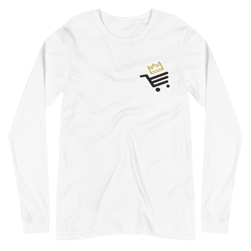 White Smoke Men's Sultan Bazar Edition Embroidery Long Sleeve Tee