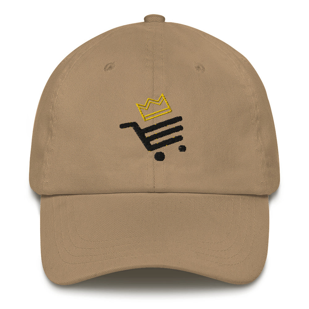 Rosy Brown Unisex Sultan Bazar Edition Dad Hat (Flat Embroidery)