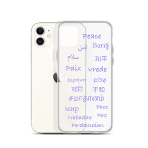 Global Peace iPhone Case