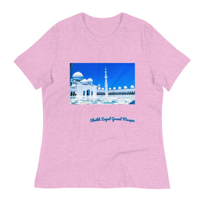 Thistle Women's Sheikh Zayed Grand Mosque Relaxed T-Shirt