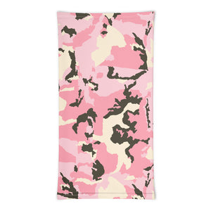 Light Pink Pink Camo Neck Gaiter