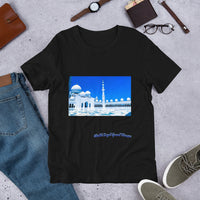 Dodger Blue Men's Sheikh Zayed Grand Mosque Short-Sleeve T-Shirt