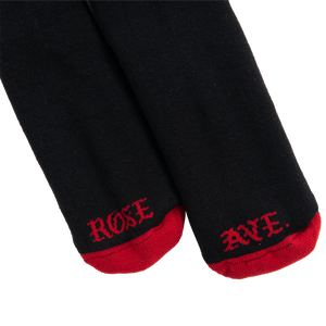 Rose Ave Socks (Black)