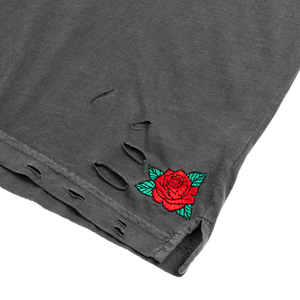 Rose Ave Distressed T-Shirt