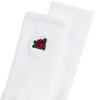 Rose Ave Socks (White)