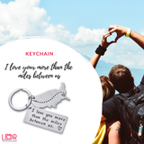 "hot-and-trendy-stuff - ""I love your more than the..."" Keychain"