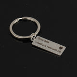 Drive Safe Keychain - LDR Couples