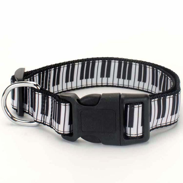 Piano Puppy Collar - Bflat Cat Store