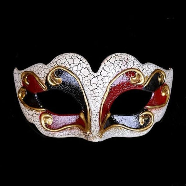 New Venetian Ball Half Mask - Bflat Cat Store