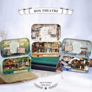 DIY Miniature Theater Scene - Bflat Cat Store