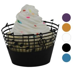 Musical Cupcake Holder - 25pcs in a pack! - Bflat Cat Store