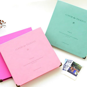 Album de Tickets - Theater Ticket Collection Book - Bflat Cat Store
