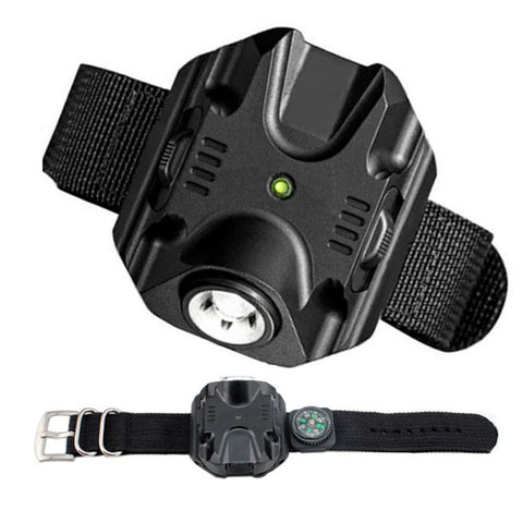 Image of Tactical Rechargeable LED Light Wactch