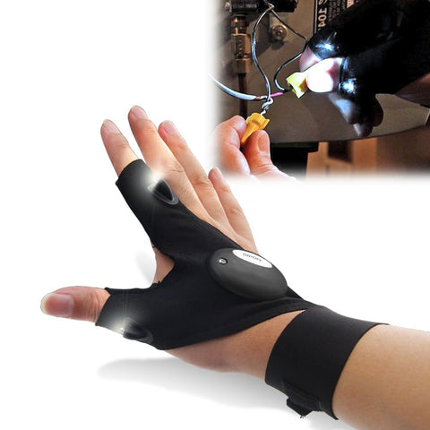 Image of Fingerless LED Glove