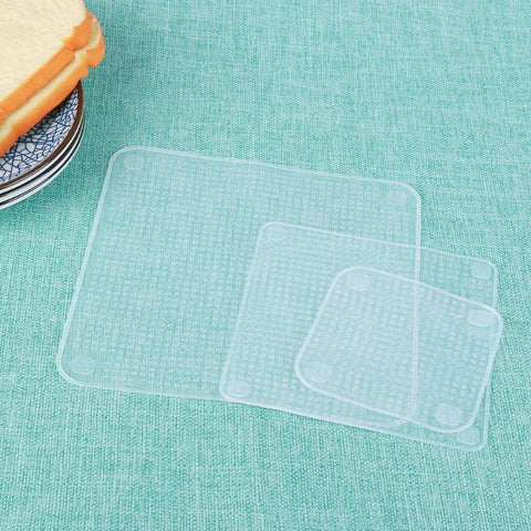 Image of Reusable Plastic Wrap