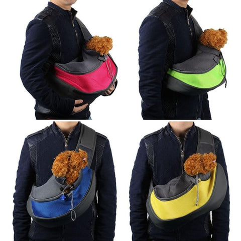 Image of Pet Pouch - Deluxe Paw-Friendly Satchel