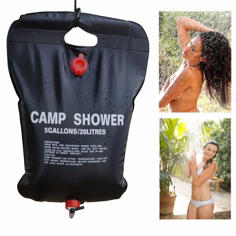 Image of Self-Heating Outdoor Shower - Solar powered Shower