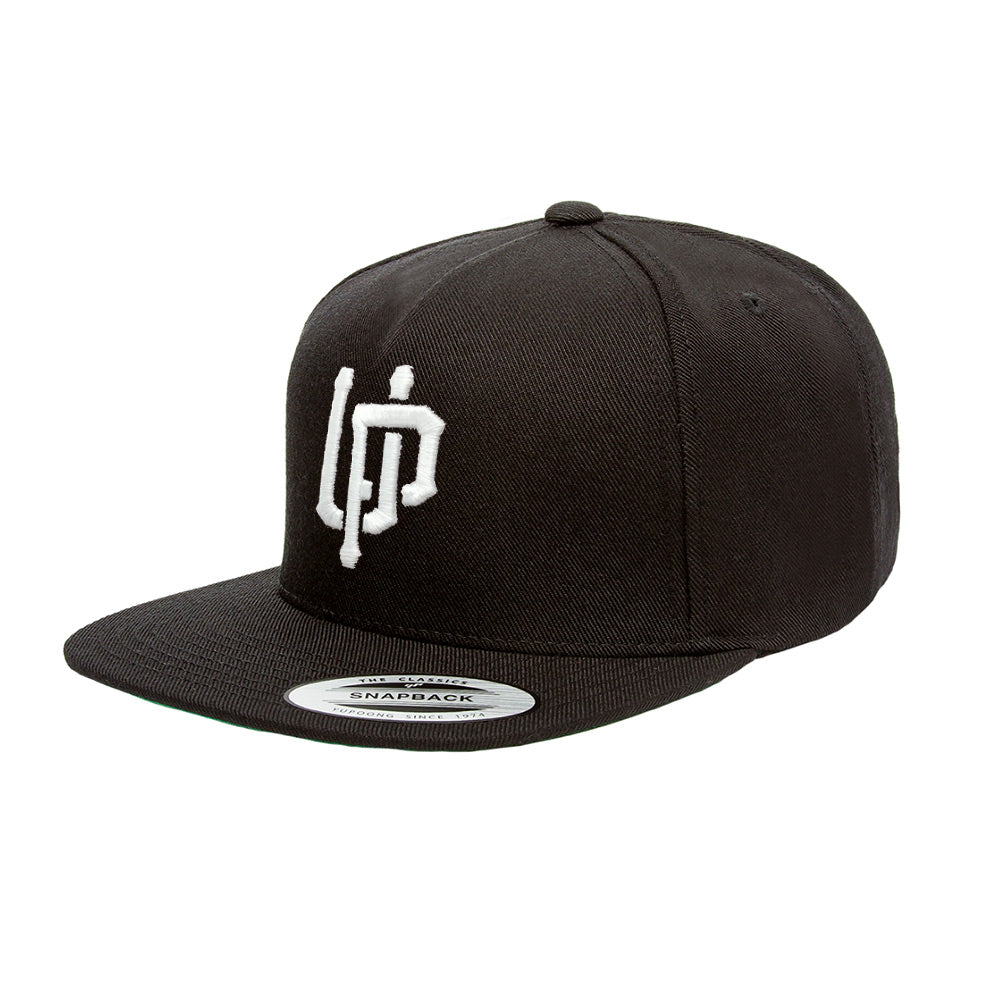 White UP Logo Snapback