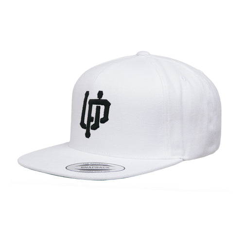Black UP Logo Snapback