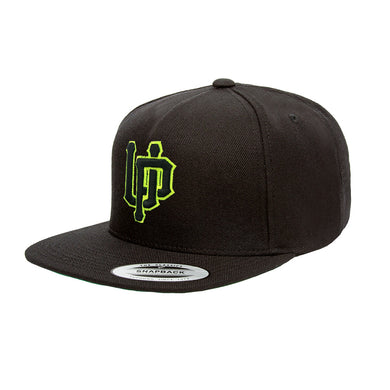 Lime UP Logo Black Snapback