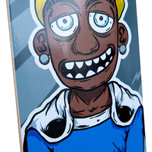 Load image into Gallery viewer, Hopsin Gray Striped Skatedeck
