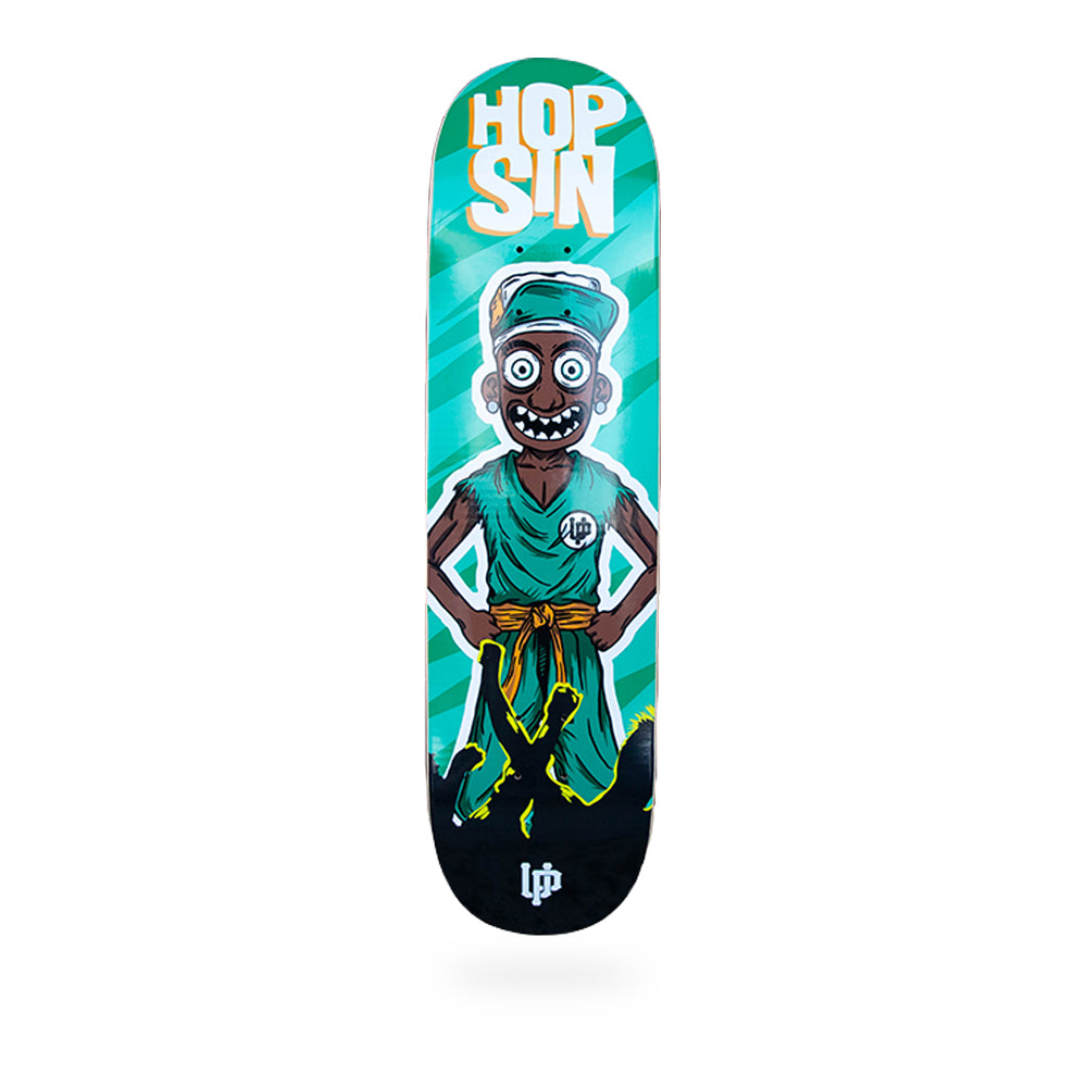 Hopsin Orange White Skatedeck