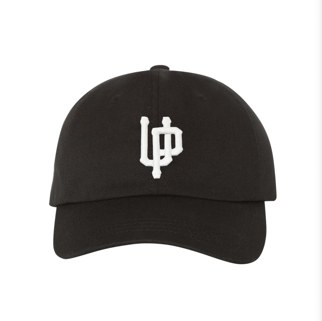 White UP Logo - Dad Hat