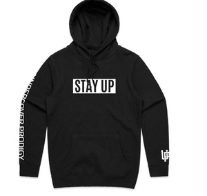 Boxed Stay Up Hoodie