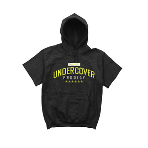 Lime Undercover Prodigy Logo Black Short Sleeve Hoodie