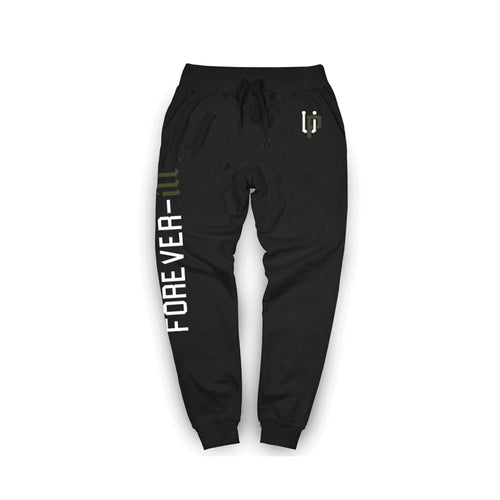 Forever Ill Jogger Black Green Wave
