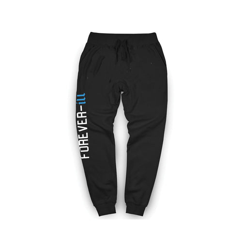 Blue Wave Forever Ill Jogger Black