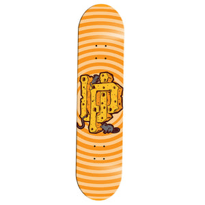 Yellow Cheese Skate Deck