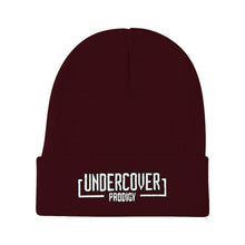 Load image into Gallery viewer, White Undercover Logo Beanie