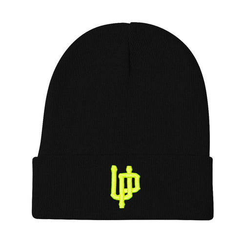 Lime UP Logo Black Beanie
