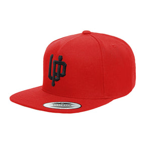 An image of the U.P. official logo snapback.