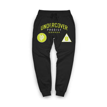 Load image into Gallery viewer, Lime Undercover Prodigy Logo Black Jogger