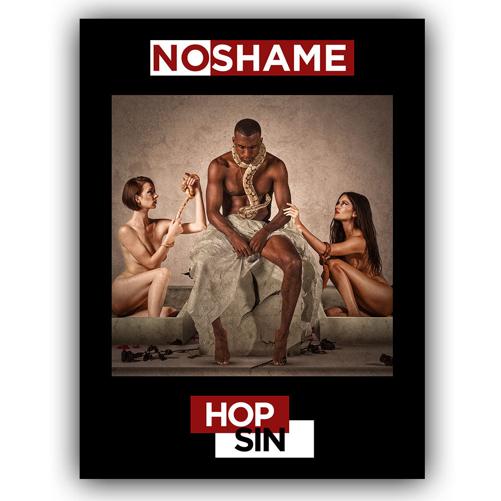 No Shame 18 Inch x 24 Inch Poster