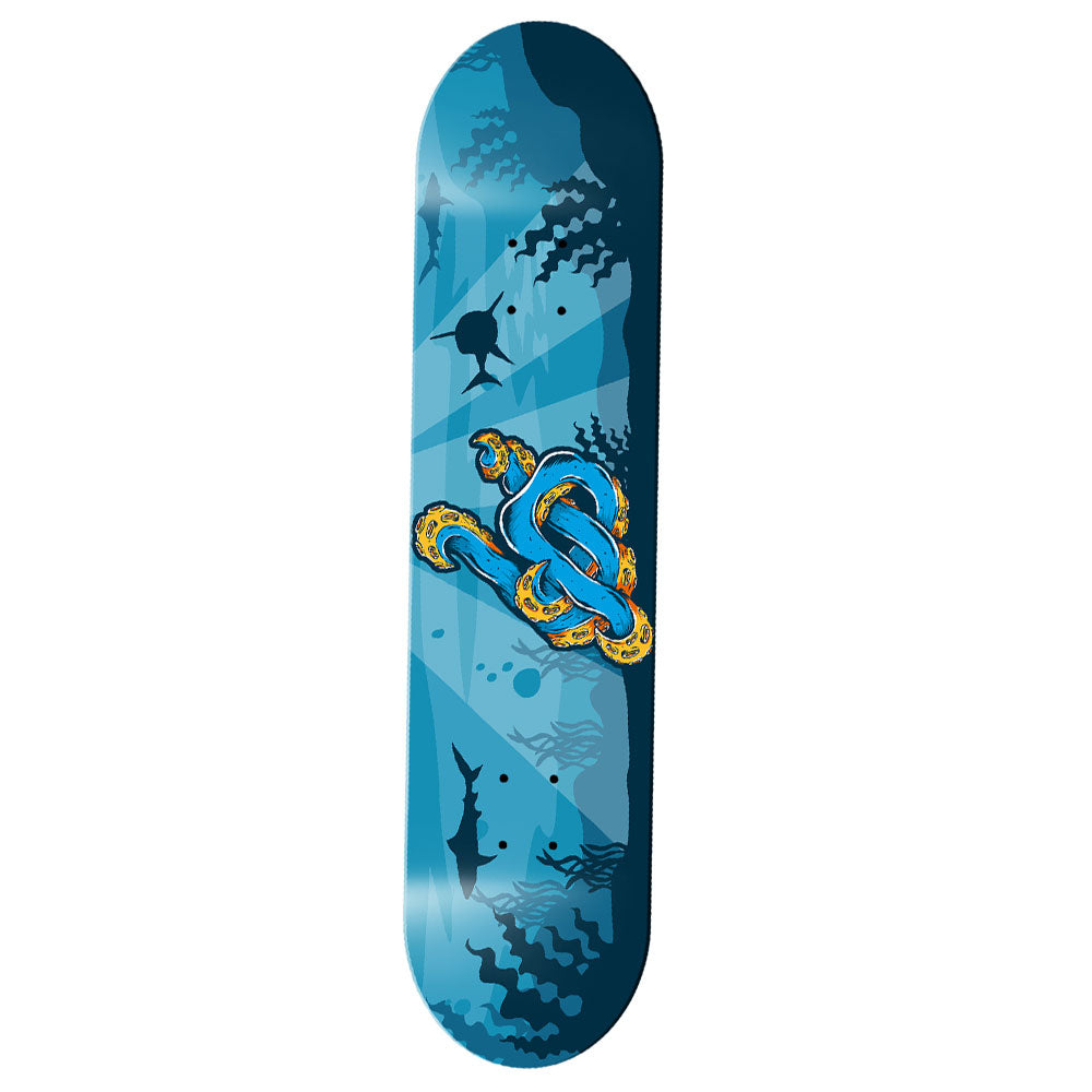 An image of the Octopus UP Logo Skate Deck