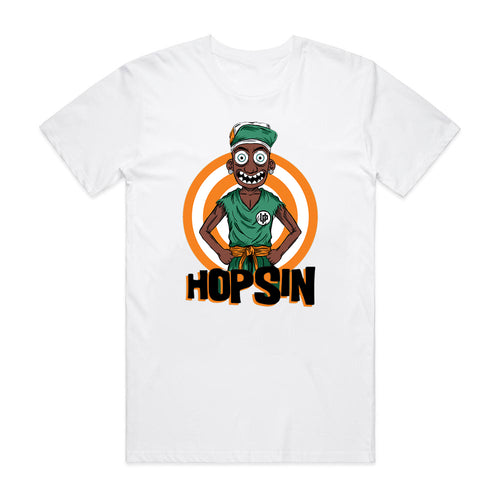 Hopsin Orange White T-shirt