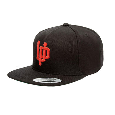 An image of the Undercover Prodigy Red Embroidered Logo snapback.