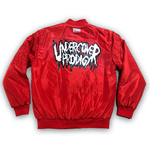 Undercover Prodigy Double-Sided Print Reversible Bomber