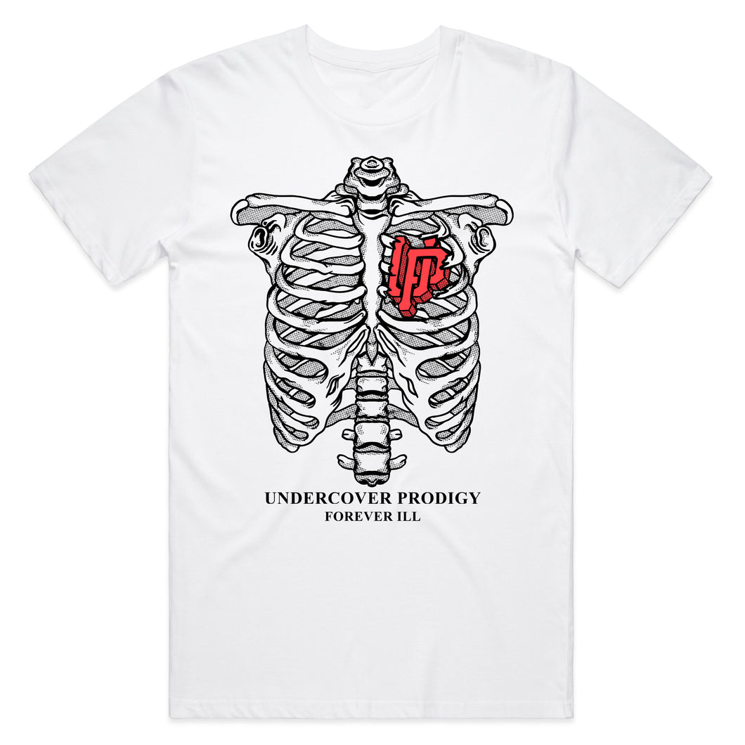 UP Rib Cage White T-shirt