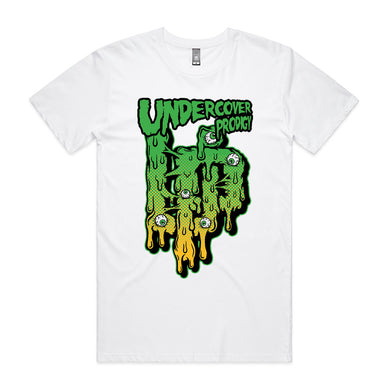 UP Slime Design White T-shirt